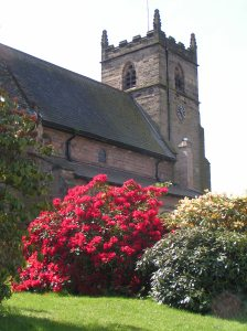 Our village church - in full bloom